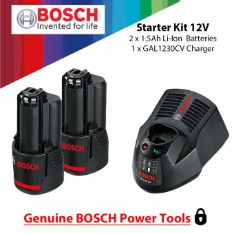 Bosch Starter Kit 12V Lithium Batteries and Charger ( For GSR 120,GSB 120 & GDR 120 ) Price Philippines