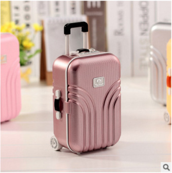 BYL Korea suitcase Music Box toy jewellry storage box