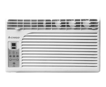 Chigo CHG-WR60A 0.6HP Remote Controlled Window Type Air Conditioner (White)