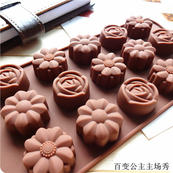 Chocolate New silicone cake Valentine's Day Ice Tray