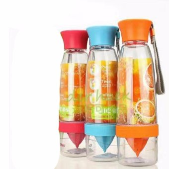 Citrus Zinger Water Tumbler Healthy Fruit Juice Fusion InfusingHydrating Water Bottle of 3