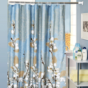 Cloth bathroom waterproof anti-mildew shower curtain Partition