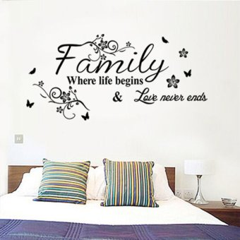 Cocotina Family Life Love 'Wall Sticker Bedroom Art Decal Decor Mural Price Philippines