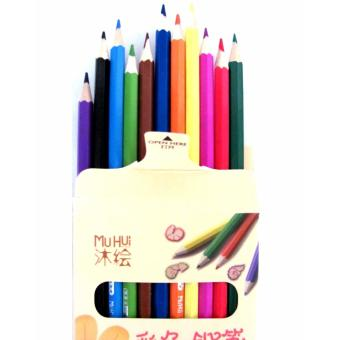 Color Pencils Bright Colors Soft and Durable 12 Colors Price Philippines