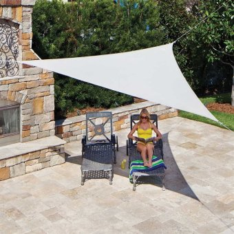 Coolaroo 13 ft. Shade Sail DIY Ready-to-Hang