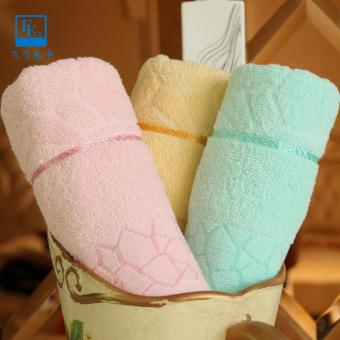 Cotton Bath Towel, 3pcs Cotton Bath Towel for Adults Sport Beach Towel Bathroom Outdoor Travel Towels - intl