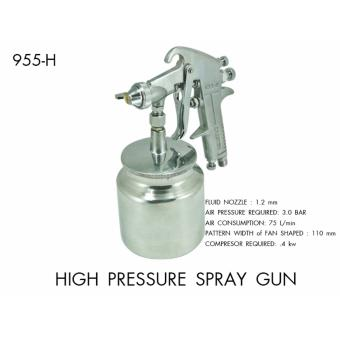 Creston High Pressure Paint Spray Gun (Suction Type)