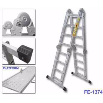 Creston Multi Purpose Step Ladder w/ Steel Platform (440cm)