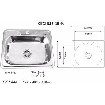 Creston Stainless Steel Kitchen Sink
