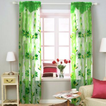 Curtain Essentials Ivy Chartreuse Green Set of 2 Price Philippines