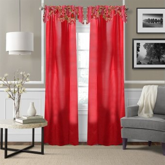 Curtain Essentials Orion Fire Brick Single Panel