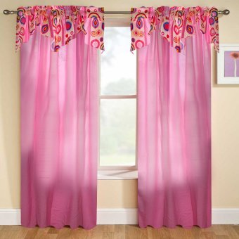 Curtain Essentials Orion Hot Pink Single Panel