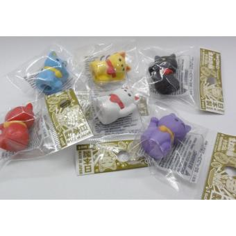 Cute beckoning cat (Maneki Neko) rubbers/erasers collection - intl Price Philippines