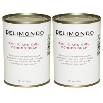 Delimondo Garlic and Chili Corned Beef Set of 2
