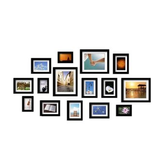 Designer 8034 DIY Wooden Photo Frame in Collage Design for HomePhoto