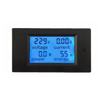 Digital LCD Blue Backlight AC80-260V 100A Volt Amp Meter withTransformer Coil Voltage Current Power Energy Meter - Intl Price Philippines