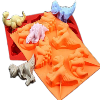 Dinosaur animal style silicone cake point Ice Tray