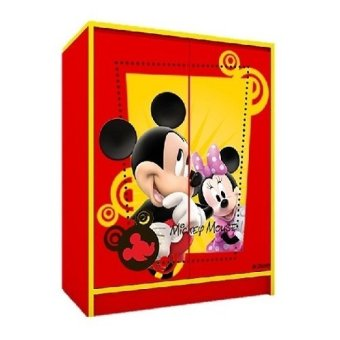 Disney Mickey Mouse 2 Door Childrend's Wardrobe