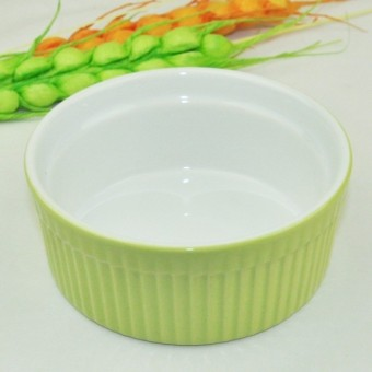 DIY ceramic cake pudding bowl baking Mold