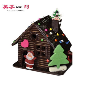DIY Christmas chocolate house baking Mold
