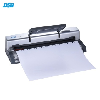 DSB WR-60 A4 Paper Puncher + Binder Punch Wire Binding Machine34/32 Holes, 6 Sheets Punching, 45 Sheets Binding, Support 6.4mmWire - intl