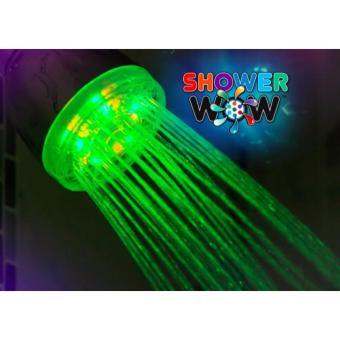 Easy to install Color changing Wow LED Shower Head