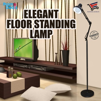 Elegant Adjustable Long Standing Floor Lamp