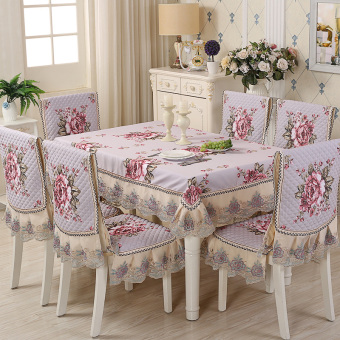 European-style Tablecloth Chair Cover