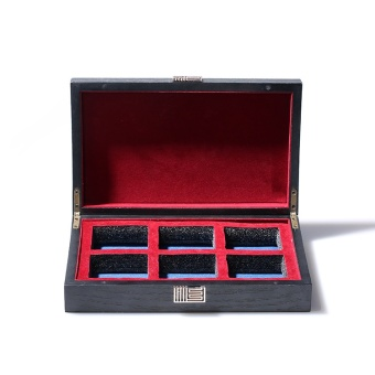 Exquisite wooden tea gift box large installed High-grade wooden box big red gift box