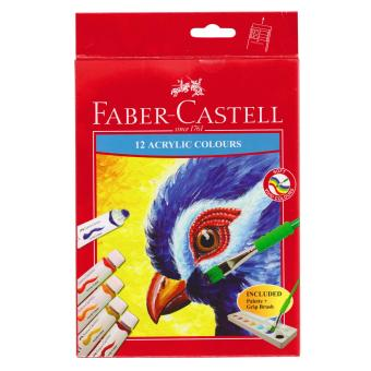 Faber-Castell Acrylic Colours 12 colors