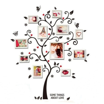 Family Photo Frame Tree Wall Sticker Stickers Home Decor - intl