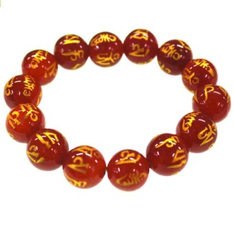 Feng Shui Charms Monta Beads Bracelet XL (Red) Price Philippines
