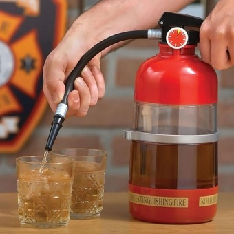 Fire Extinguisher Cocktail Shaker Beer Dispenser