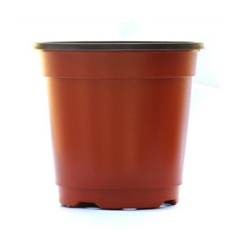 Five Star Store LOT OF 100 1 Gallon PLASTIC FLOWER NURSERY POTS (Intl)