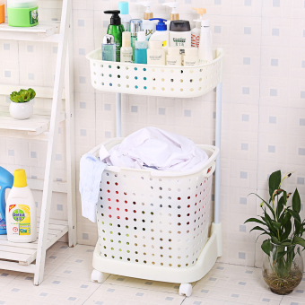 Floor toilet bathroom storage rack bathroom shelf