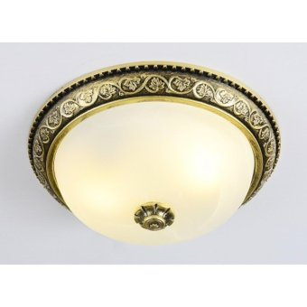 FLUSH CEILING LAMP (BRONZE) ?:300MM H:120MM