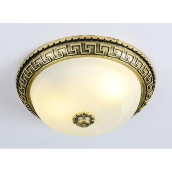 FLUSH CEILING LAMP (GOLD) ?:300MM H:120MM