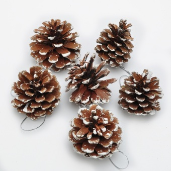 GANGHENG decorative dress pine cones Christmas tree