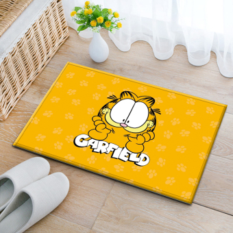 Garfield cute bedroom bathroom non-slip mat