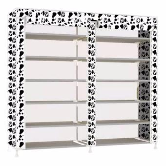 G@Best Amazing High Quality 6 Layer Shoe Rack Shoe Cabinet(WhiteDog)