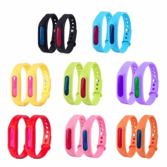 G@Best Anti Mosquito Pest Insect Bugs Repellent Wrist Band BraceletWristband Set of 4 (Random Color)