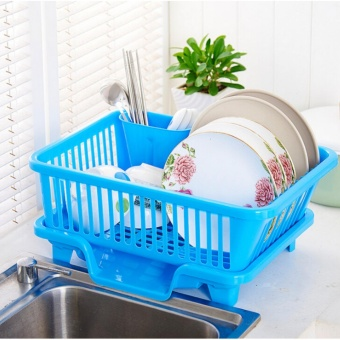 Great Kitchen Sink Dish Drainer Drying Rack Washing Holder BasketOrganizer Tray - intl