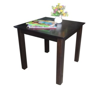 Hapihomes Blake All Wood Side Table (black) Price Philippines