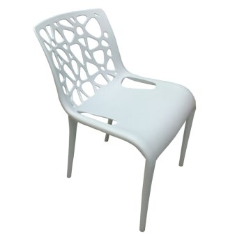 HB Philippines 9101 Indoor/Outdoor Accent Chair (White)