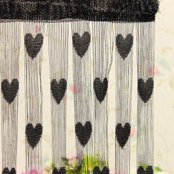 Heart Drop Beads String Door Window Curtain Tassel Divider Room Price Philippines