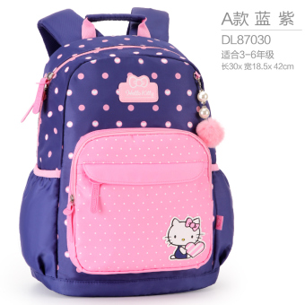 Hello Kitty Korean-style girls girl's children's backpack young student's school bag