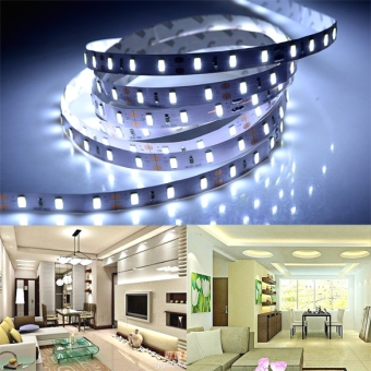 High Quality 300LEDs 5 Meter SMD 5630 Flexible LED Strip Light DC12V - intl