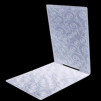 High Quality Store New Newest Classical Pattern Plastic Embossing Folder For Scrapbook DIY Album Card Tool Template#8
