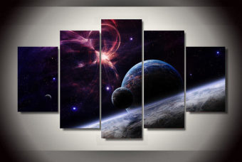 Home Decor Pictures Pictures Stars Galaxies Painting On Canvas RoomDecoration Print Poster Picture Canvas Painting on the wall (NoFrame)