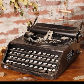 Home furnishings Vintage typewriter for Home Decor Wedding Party - intl Price Philippines